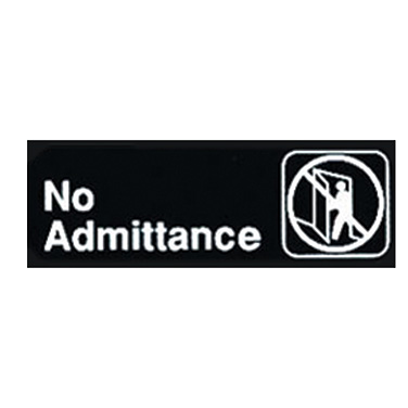 4150-161 Winco SGN-331 sign, compliance