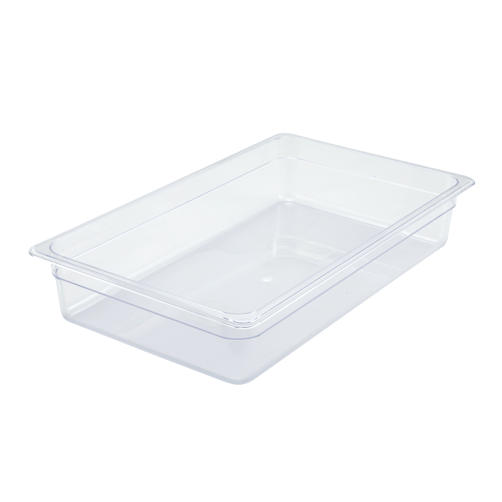 2410-011 Winco SP7104 FULL size 4in D food pan, plastic