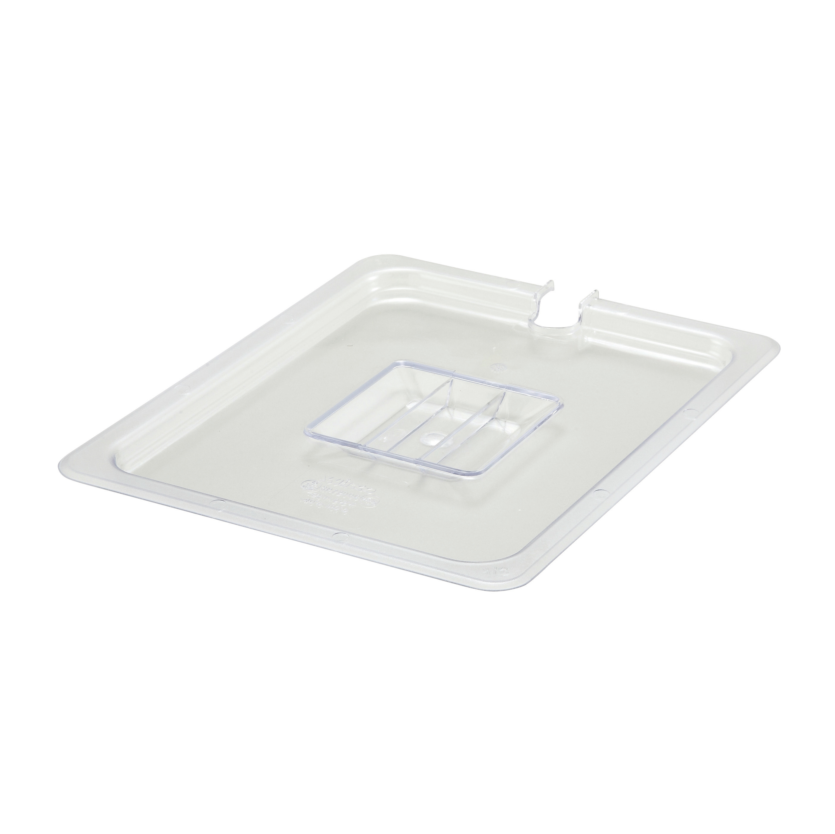 2410-021 Winco SP7200C food pan 1/2 size slotted cover, plastic