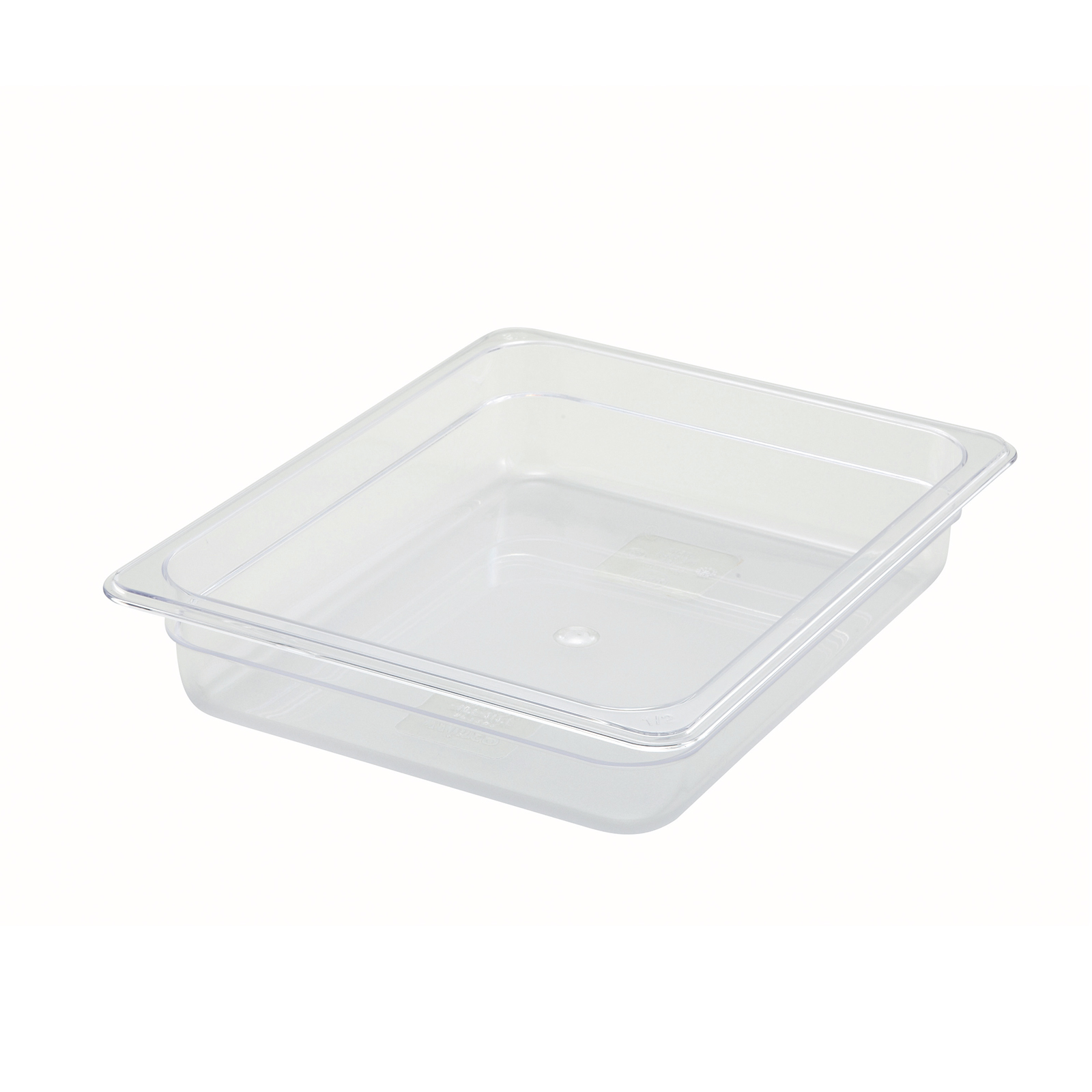 2410-017 Winco SP7202 food pan 1/2size 2.5inD, plastic