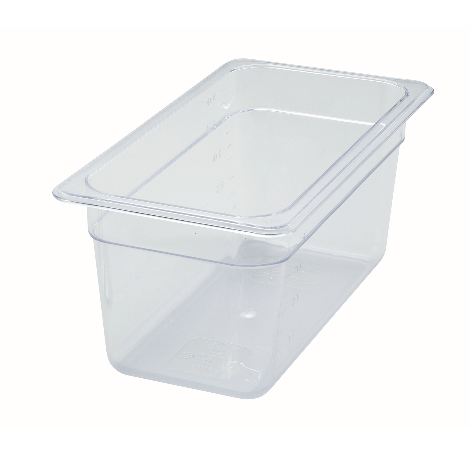 2410-025 Winco SP7306 food pan, 1/3size 6in D, plastic