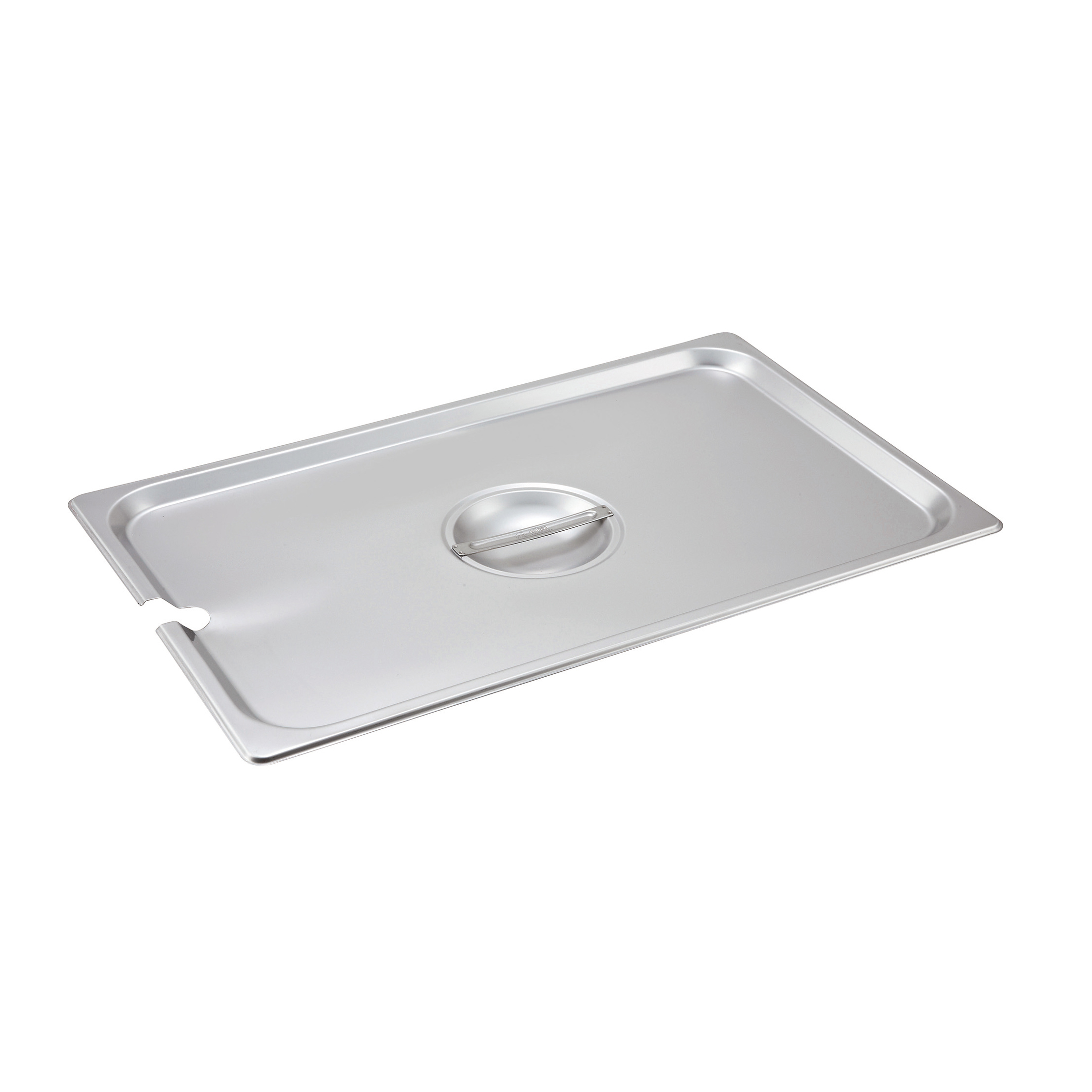 2400-1233 Winco SPCF steam table pan cover, stainless steel