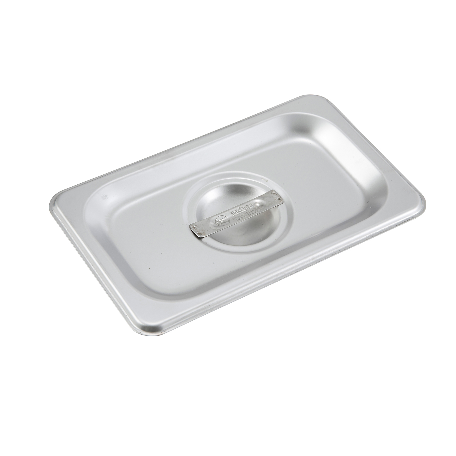 2400-129 Winco SPSCN steam table pan cover, stainless steel