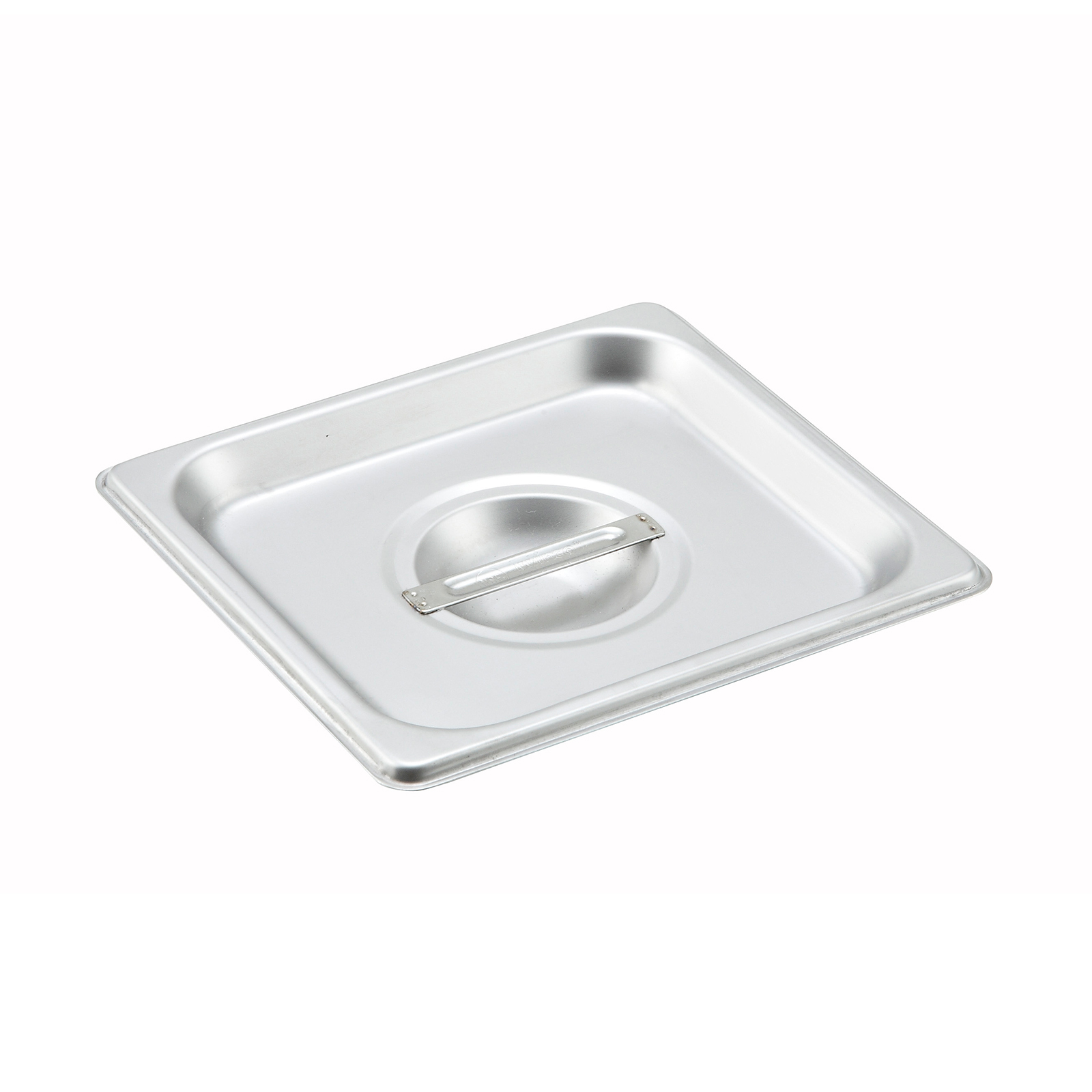 2400-1281 Winco SPSCS steam table pan cover, stainless steel