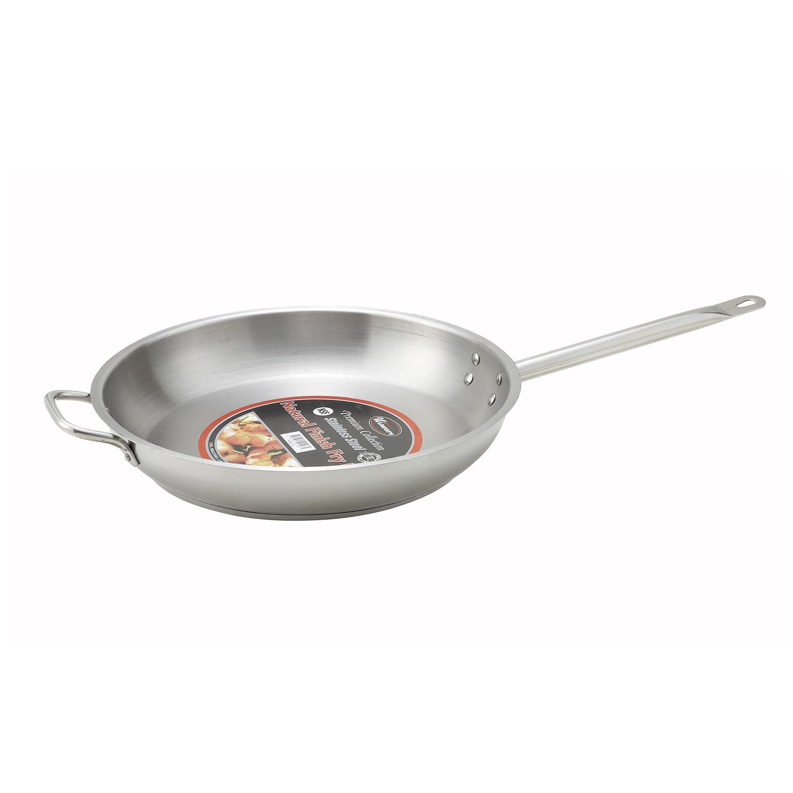 1000-76 Winco SSFP-14 fry pan