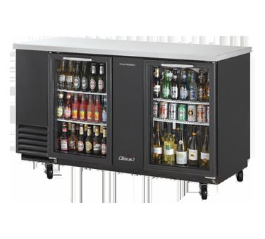 TBB-3SG Turbo Air back bar cabinet, refrigerated