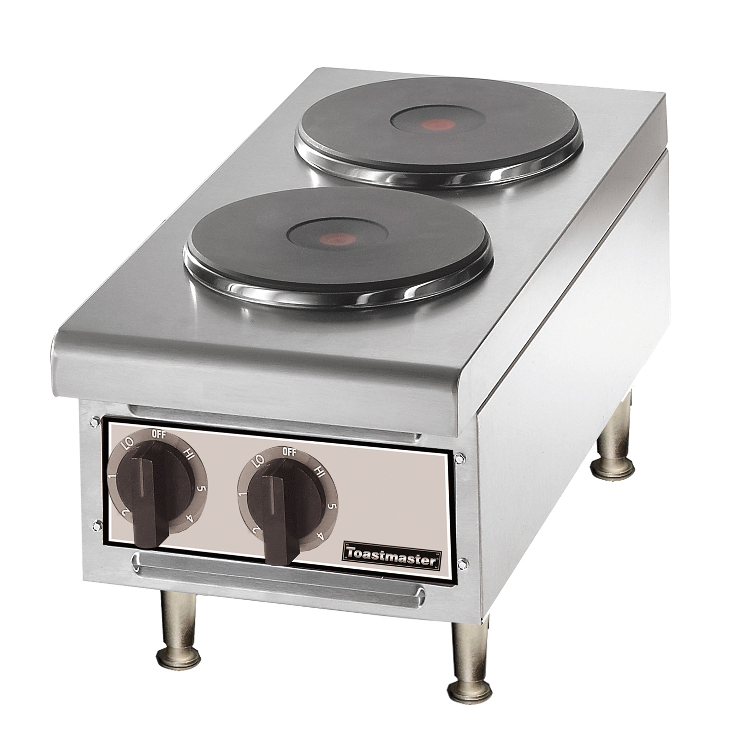 TMHPF Toastmaster hotplate, countertop, electric