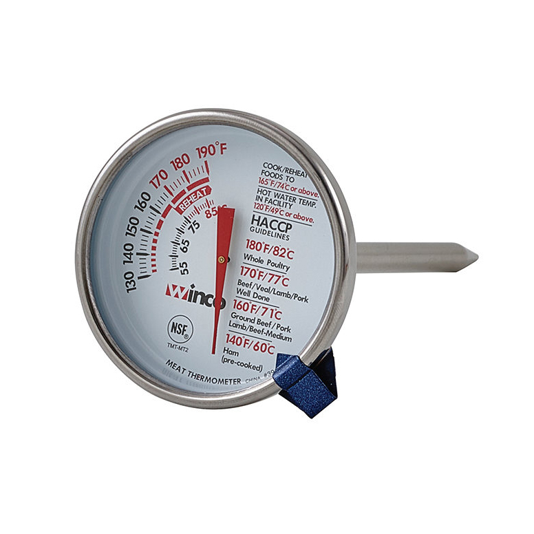2650-30 Winco TMT-MT2 meat thermometer