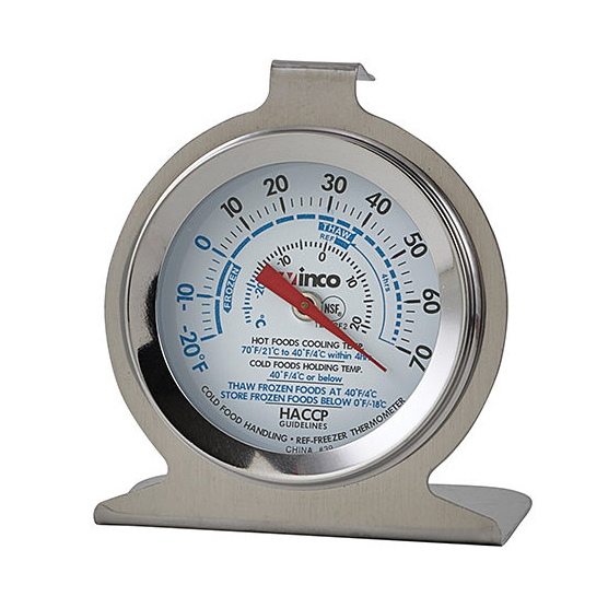 2650-12 Winco TMT-RF2 thermometer, refrig freezer