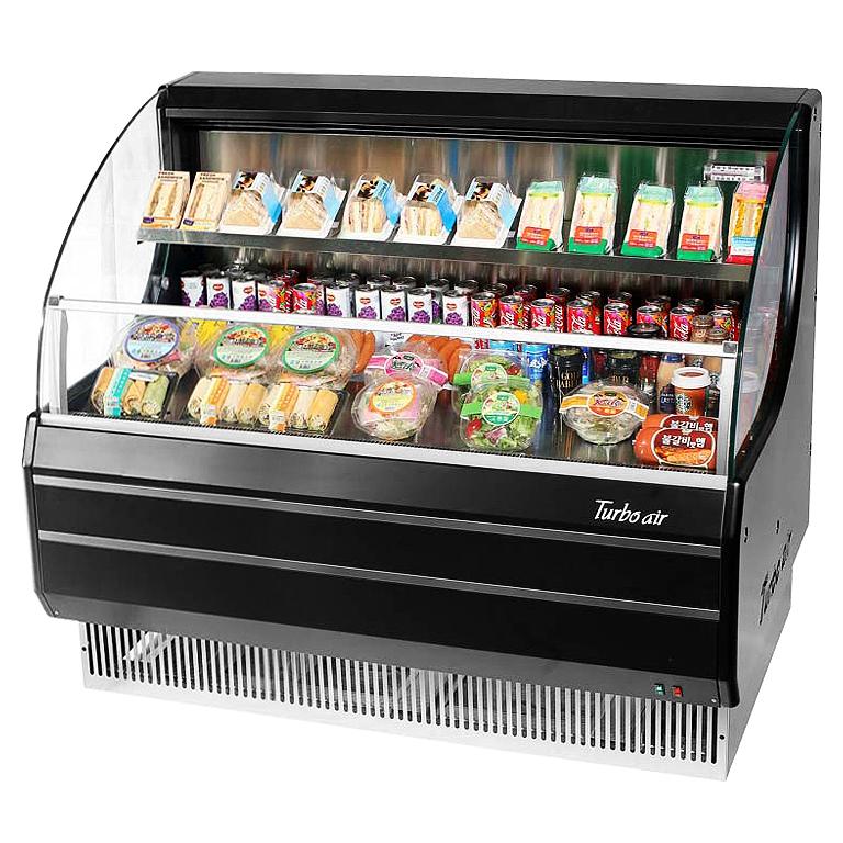 TOM-50LB-N Turbo Air merchandiser, open refrigerated display