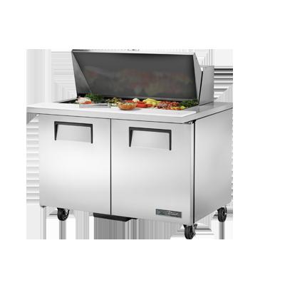 TSSU-48-18M-B-HC True Manufacturing Co., Inc. refrigerated counter, mega top sandwich / salad unit