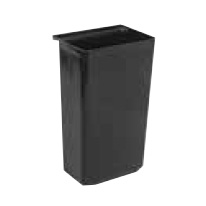 3600-05 Winco UC-RB trash receptacle, for bus cart
