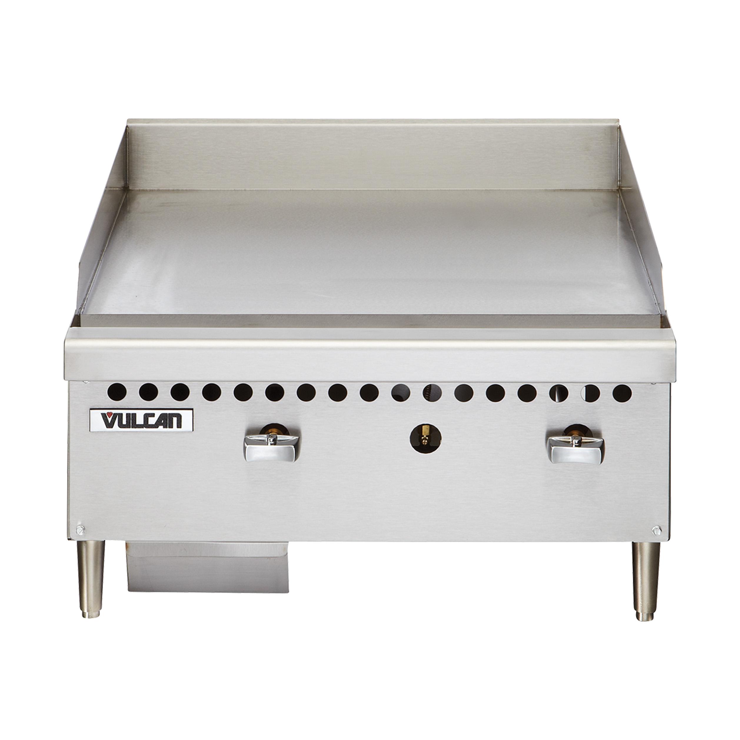 VCRG24-M Vulcan griddle, gas, countertop