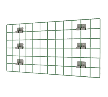 WG3048K3 Metro shelving, wall grid panel