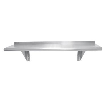 WS-15-96 Advance Tabco shelving, wall mounted