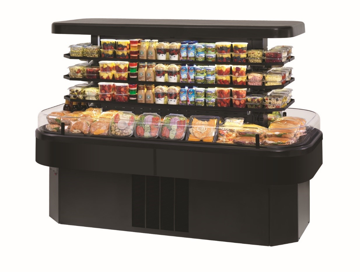 Federal Industries EIMSS60SC-3 refrigerated self-serve island