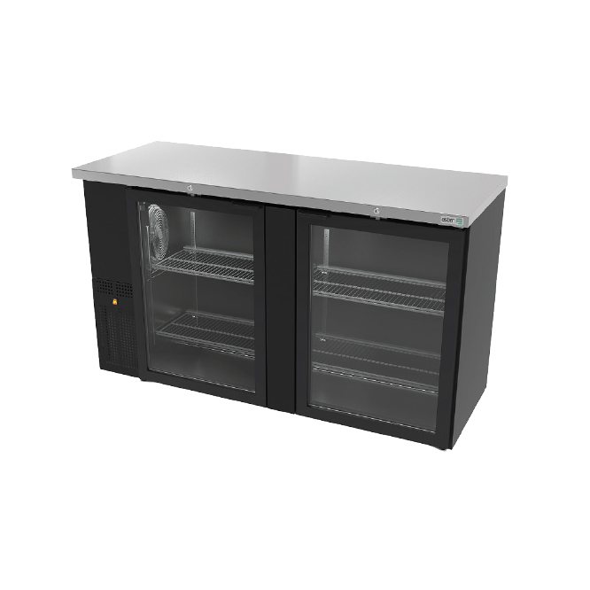 Asber ABBC-24-60G back bar cabinet, refrigerated