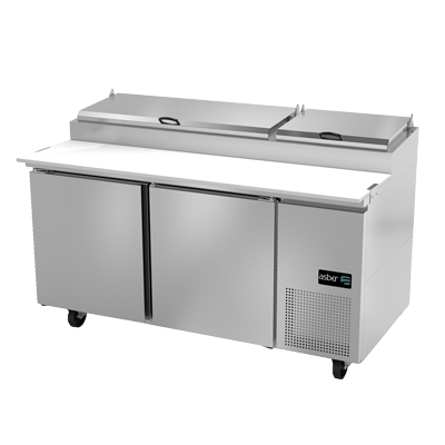 APTP-67 Asber refrigerated counter, pizza prep table