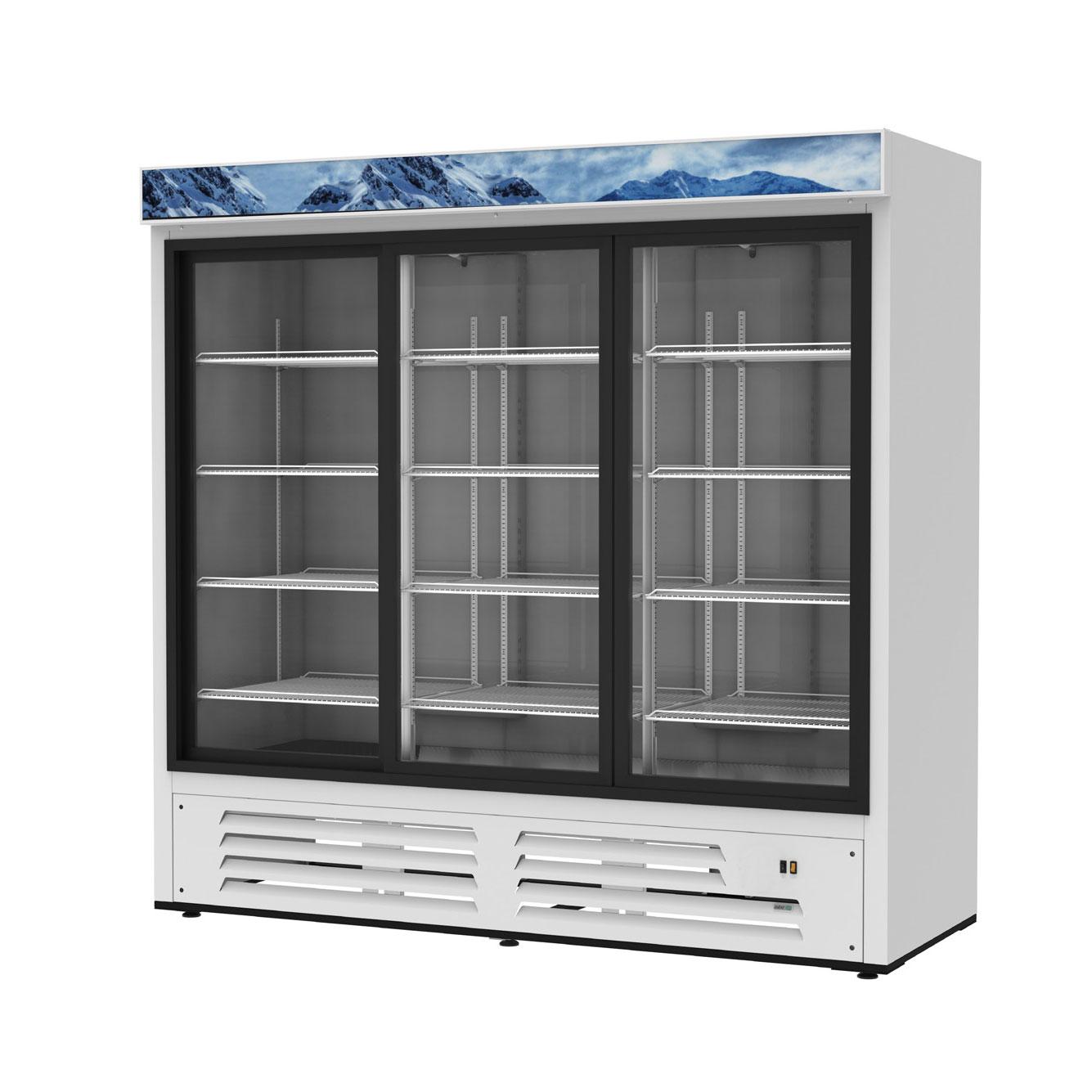 Asber ARMD-69A-SD refrigerator, merchandiser