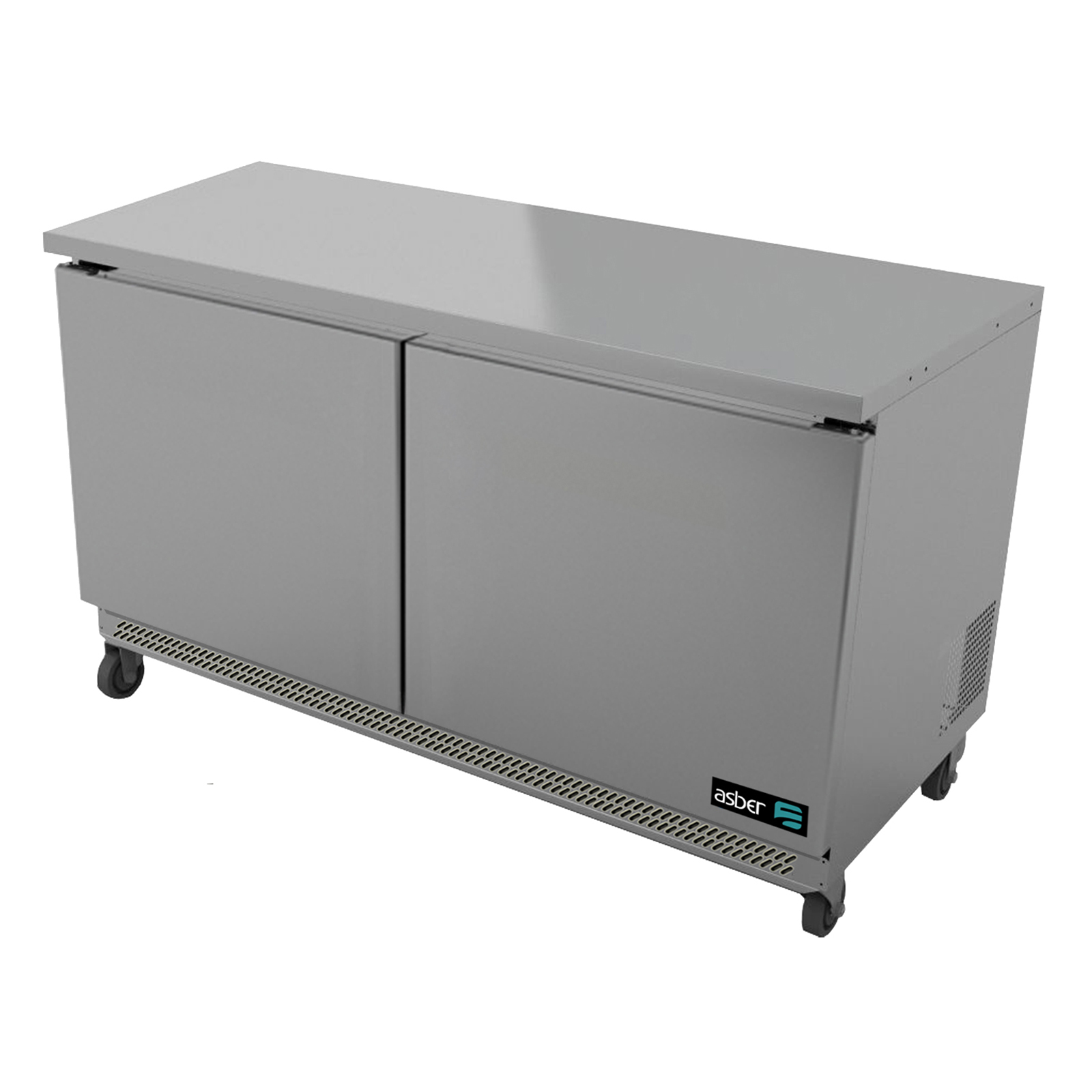 Asber AUTF-48 freezer, undercounter, reach-in