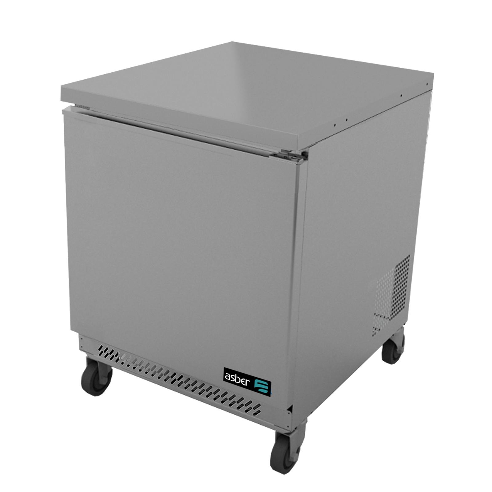 Asber AUTR-27 refrigerator, undercounter, reach-in