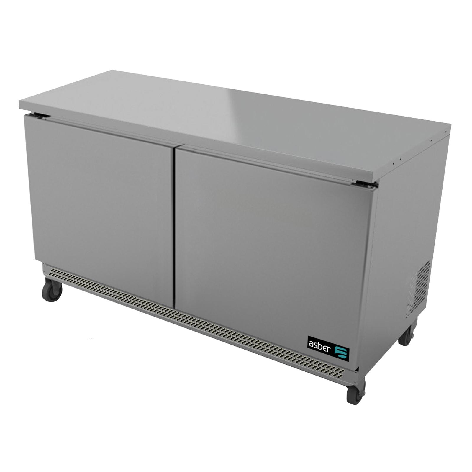 Asber AUTR-48 refrigerator, undercounter, reach-in