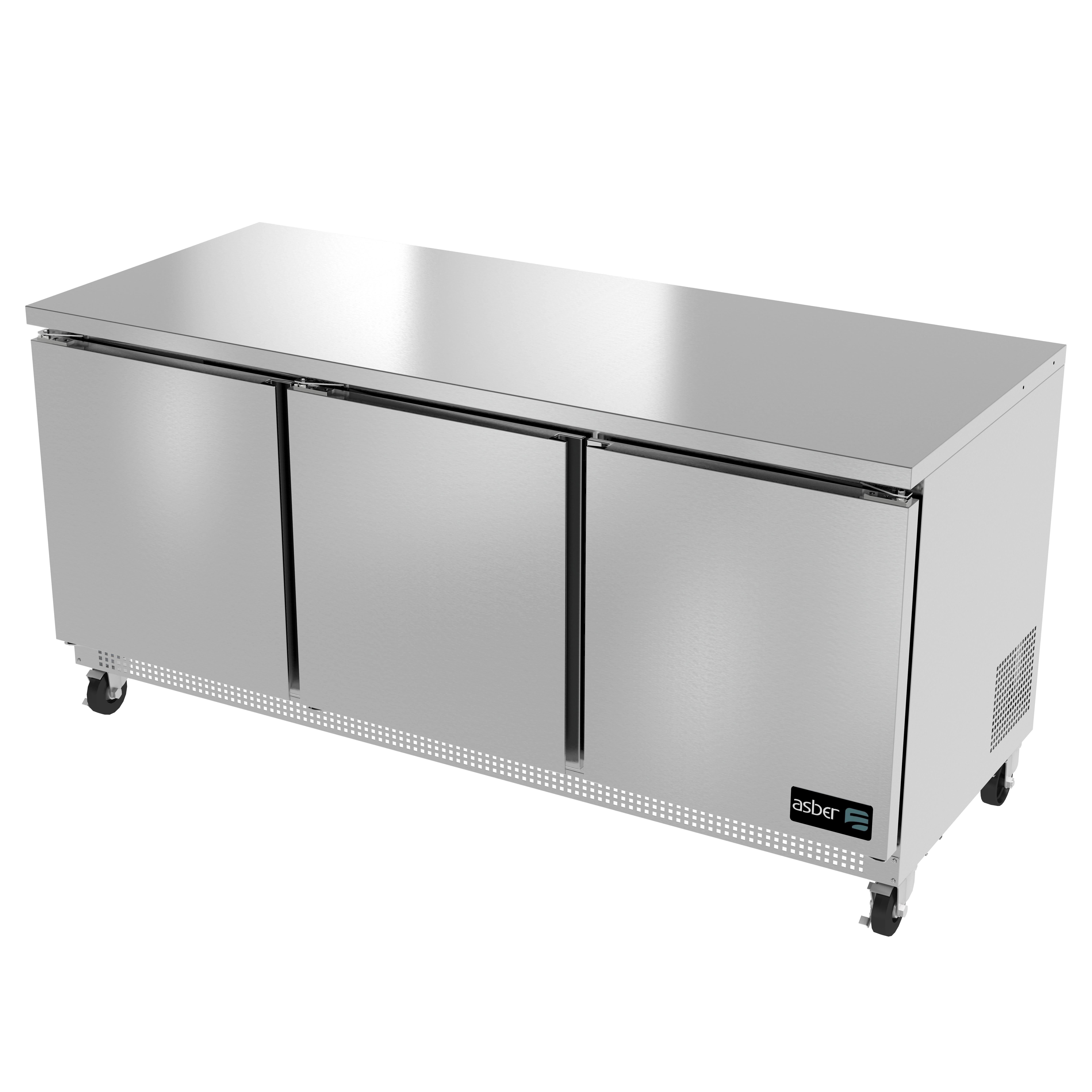 Asber AUTR-72 refrigerator, undercounter, reach-in