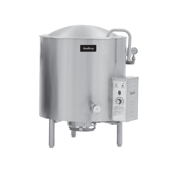 AccuTemp ALLGB-25F kettle, gas, stationary