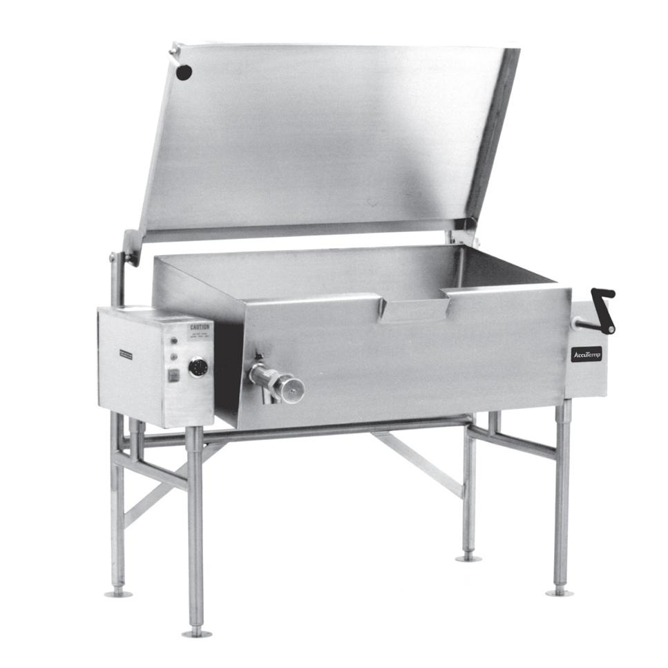 AccuTemp ALTES-30 tilting skillet braising pan, electric