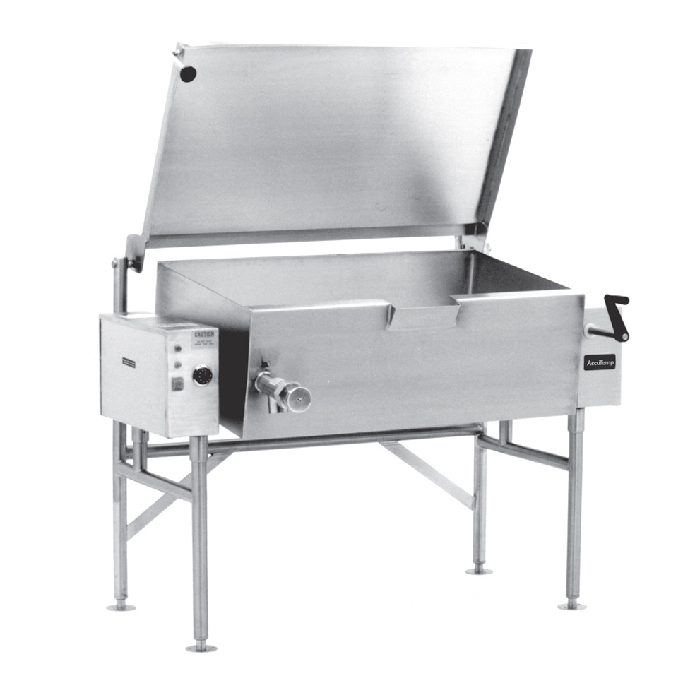 AccuTemp ALTES-40 tilting skillet braising pan, electric