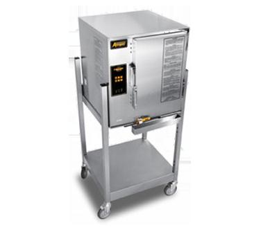 AccuTemp E64803D140 SGL steamer, convection, electric, boilerless, floor model