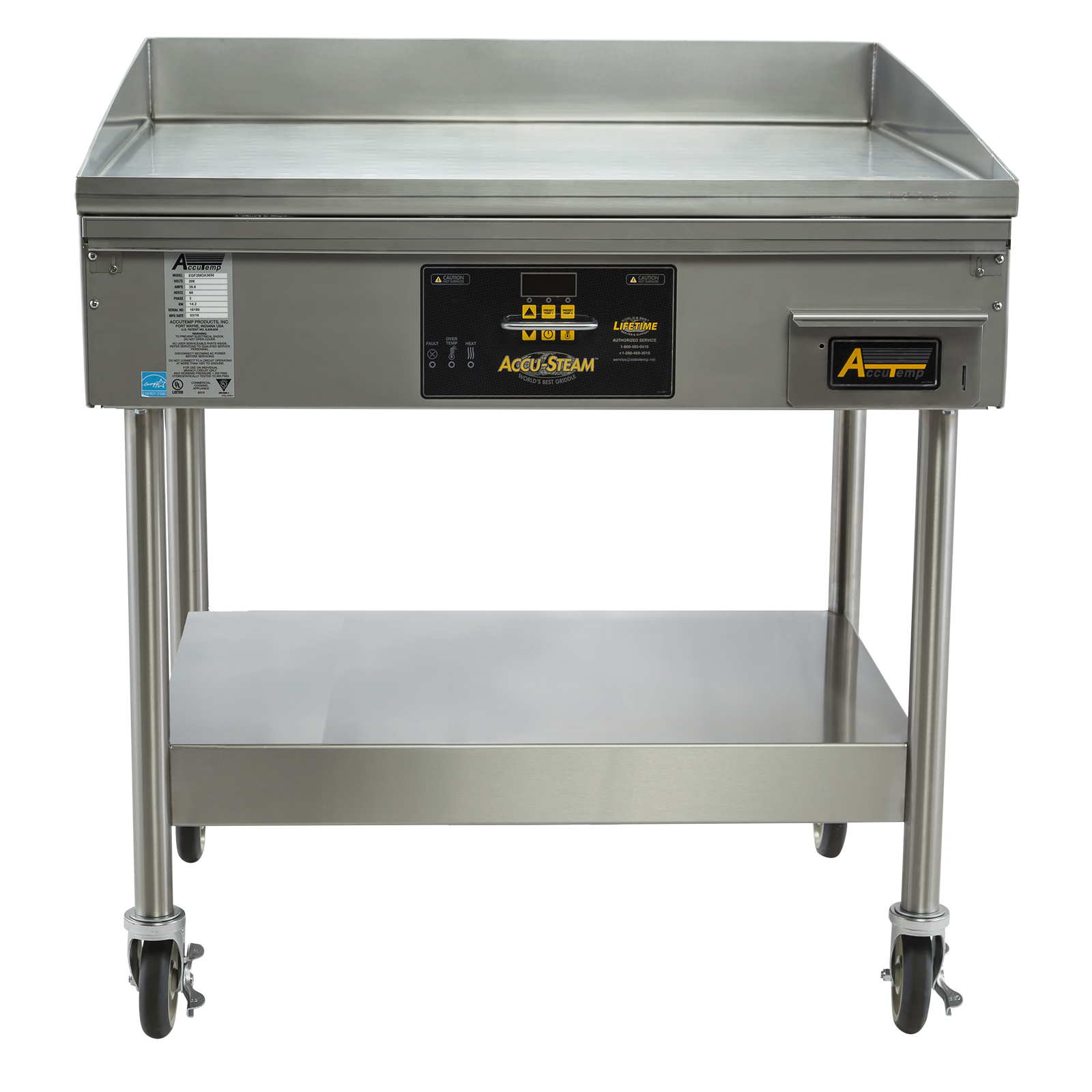 AccuTemp EGF2403A3650-S2 griddle, electric, countertop