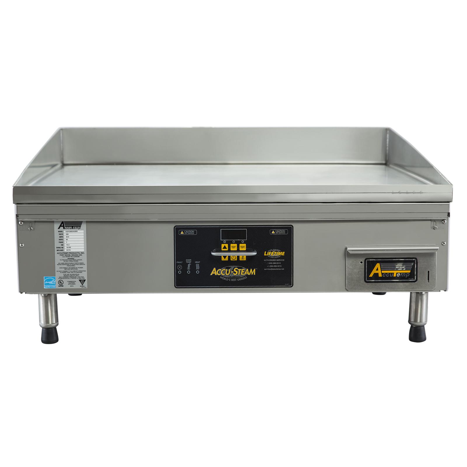 AccuTemp EGF2403A4850-T1 griddle, electric, countertop