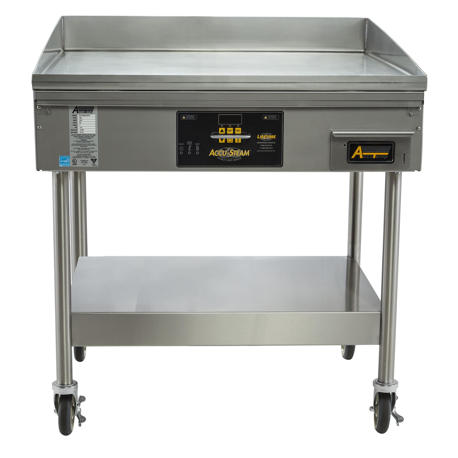 AccuTemp EGF4803B2450-S2 griddle, electric, countertop
