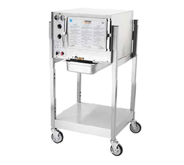 AccuTemp S34403D090 SGL steamer, convection, electric, boilerless, floor model