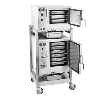 AccuTemp S3/S62083D080 steamer, convection, electric, boilerless, floor model