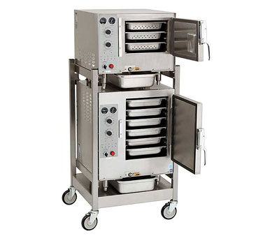 AccuTemp S3/S62083D120 steamer, convection, electric, boilerless, floor model