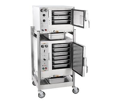 AccuTemp S3/S62401D060 steamer, convection, electric, boilerless, floor model