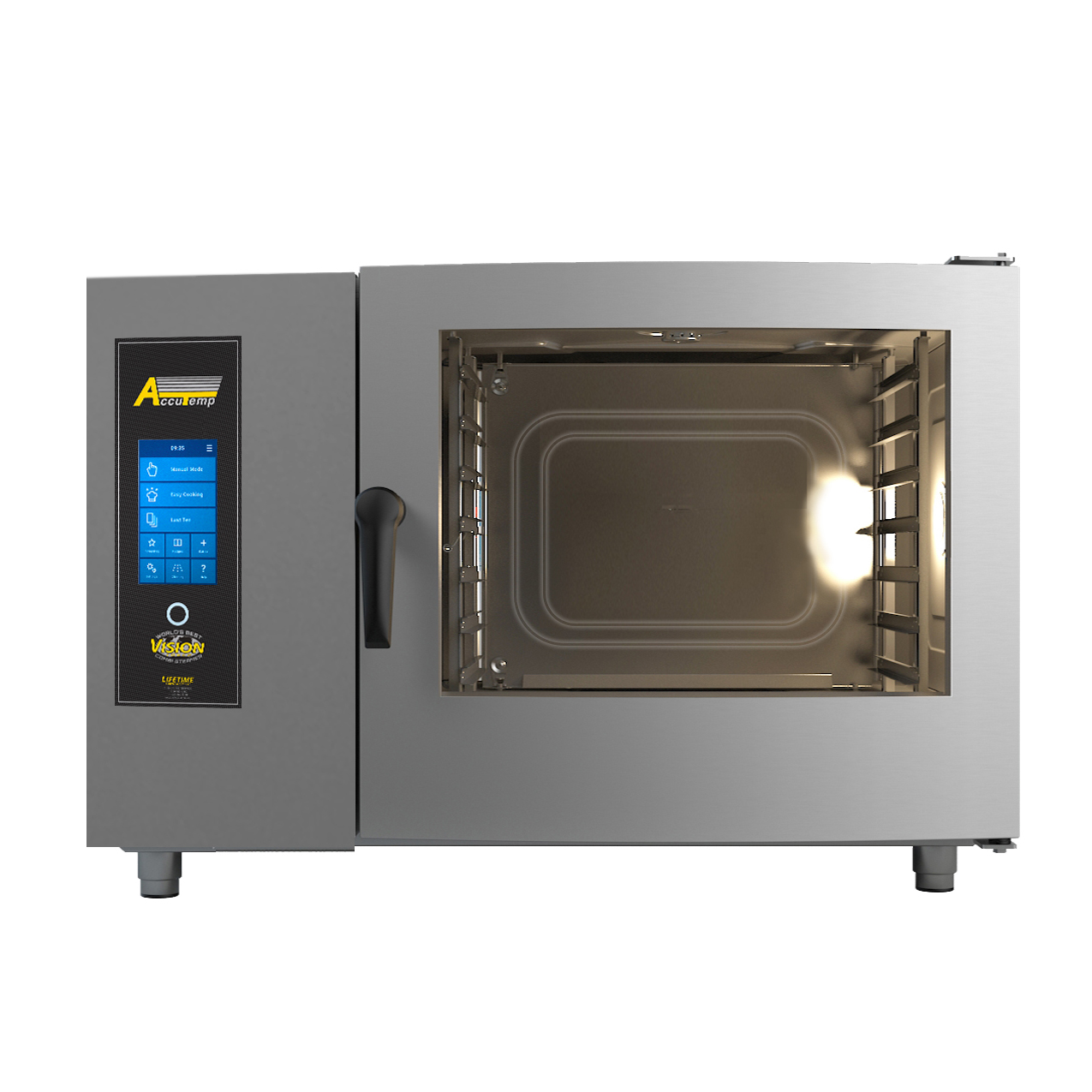 AccuTemp T0621IN-1201000 combi oven, gas