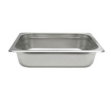Admiral Craft 200Q2 steam table pan, stainless steel