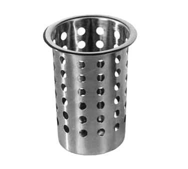 Admiral Craft CYL-SS flatware holder, cylinder / insert