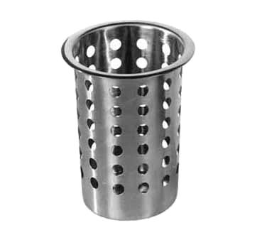 Admiral Craft CYL-SS flatware holder, cylinder / insert