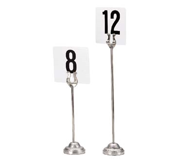 Admiral Craft DCH-8 menu card holder / number stand