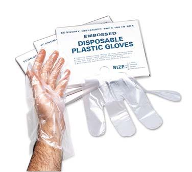Adcraft (Admiral Craft Equipment) DG-10LC disposable gloves