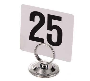 Admiral Craft DMH-3 menu card holder / number stand