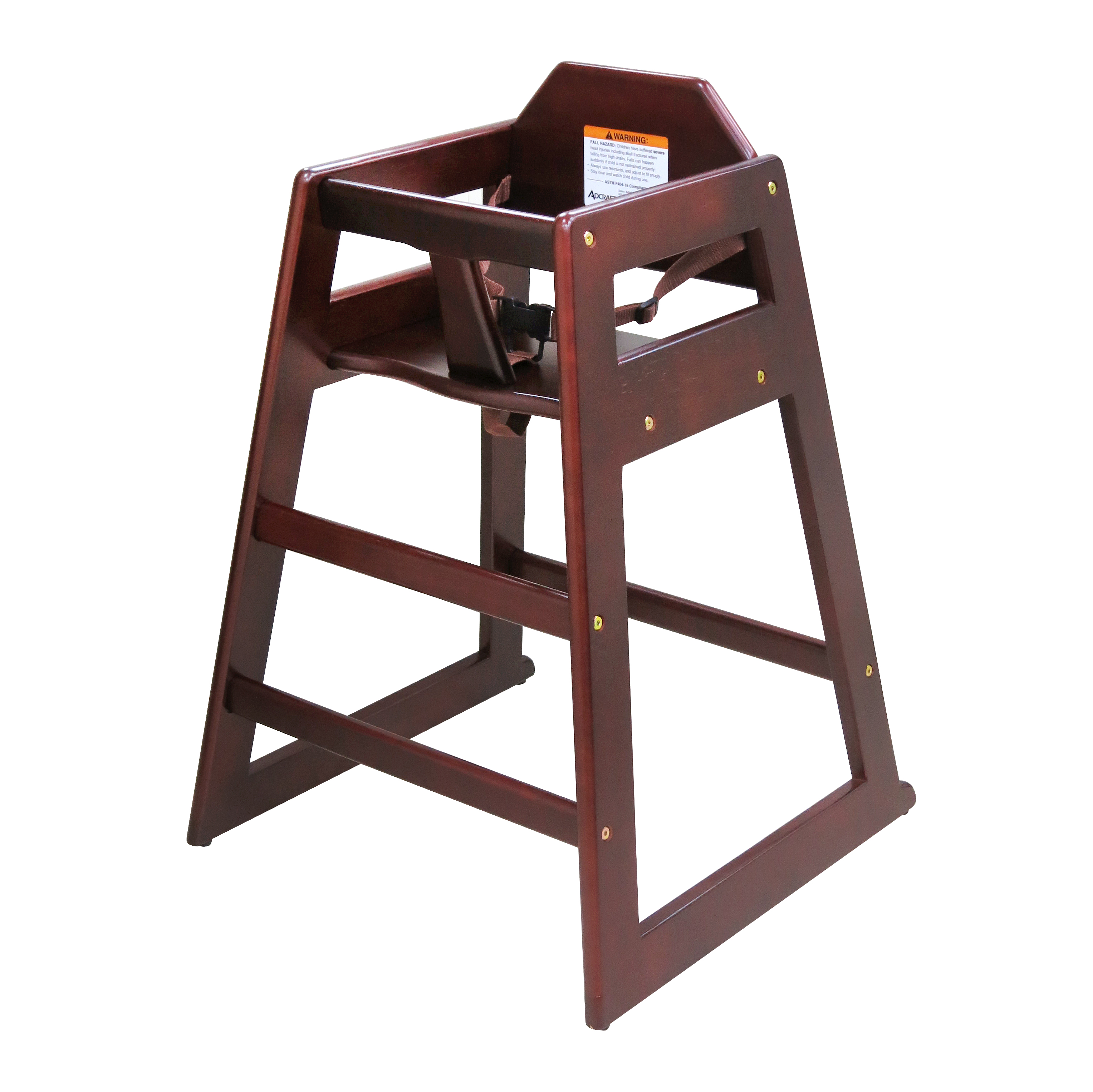 Admiral Craft HCW-5KD high chair, wood