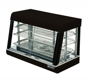 Admiral Craft HD-36 display case, hot food, countertop
