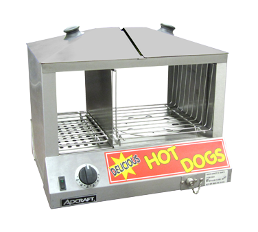 Admiral Craft HDS-1200W hot dog steamer
