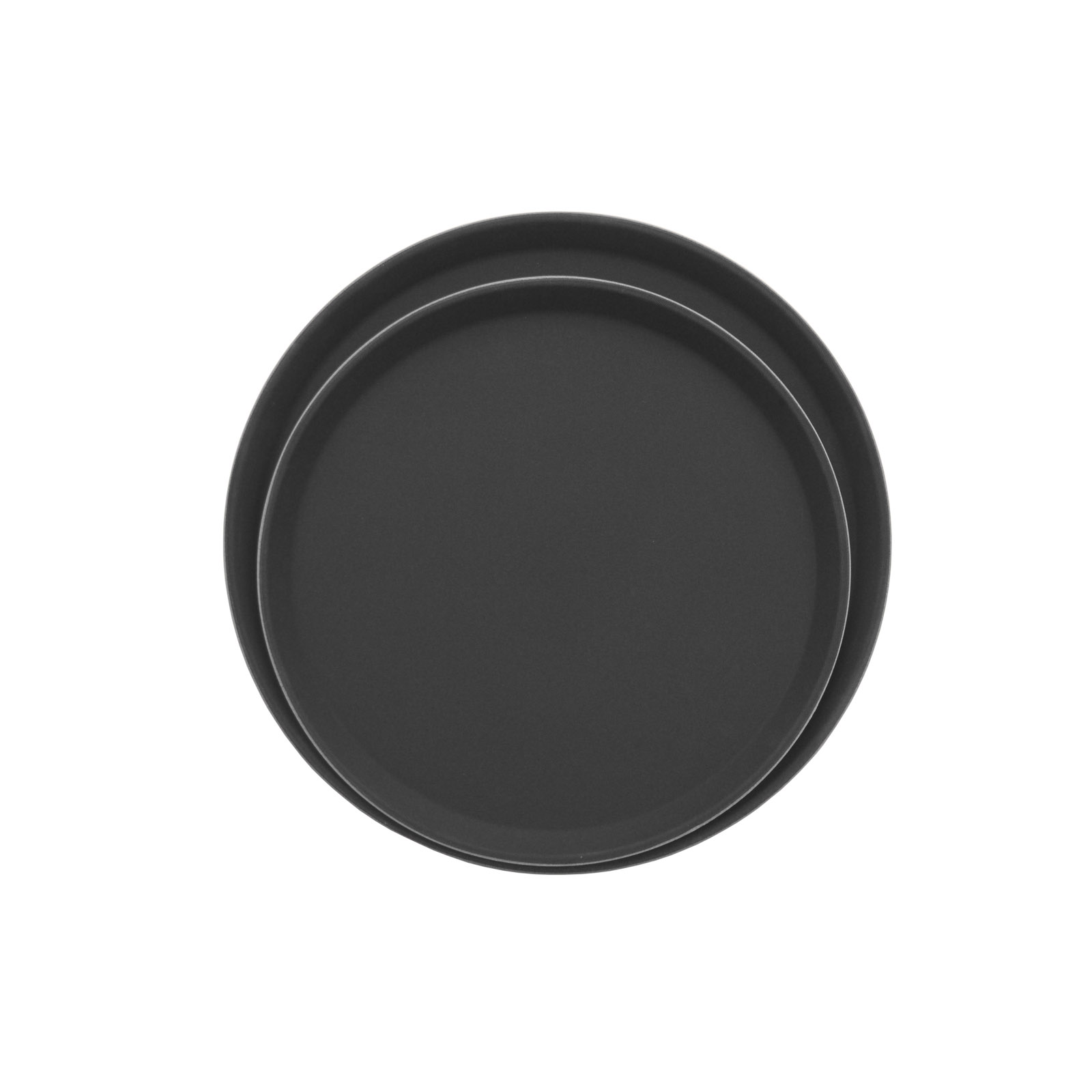 Admiral Craft NST-11BK/ROUND serving tray, non-skid