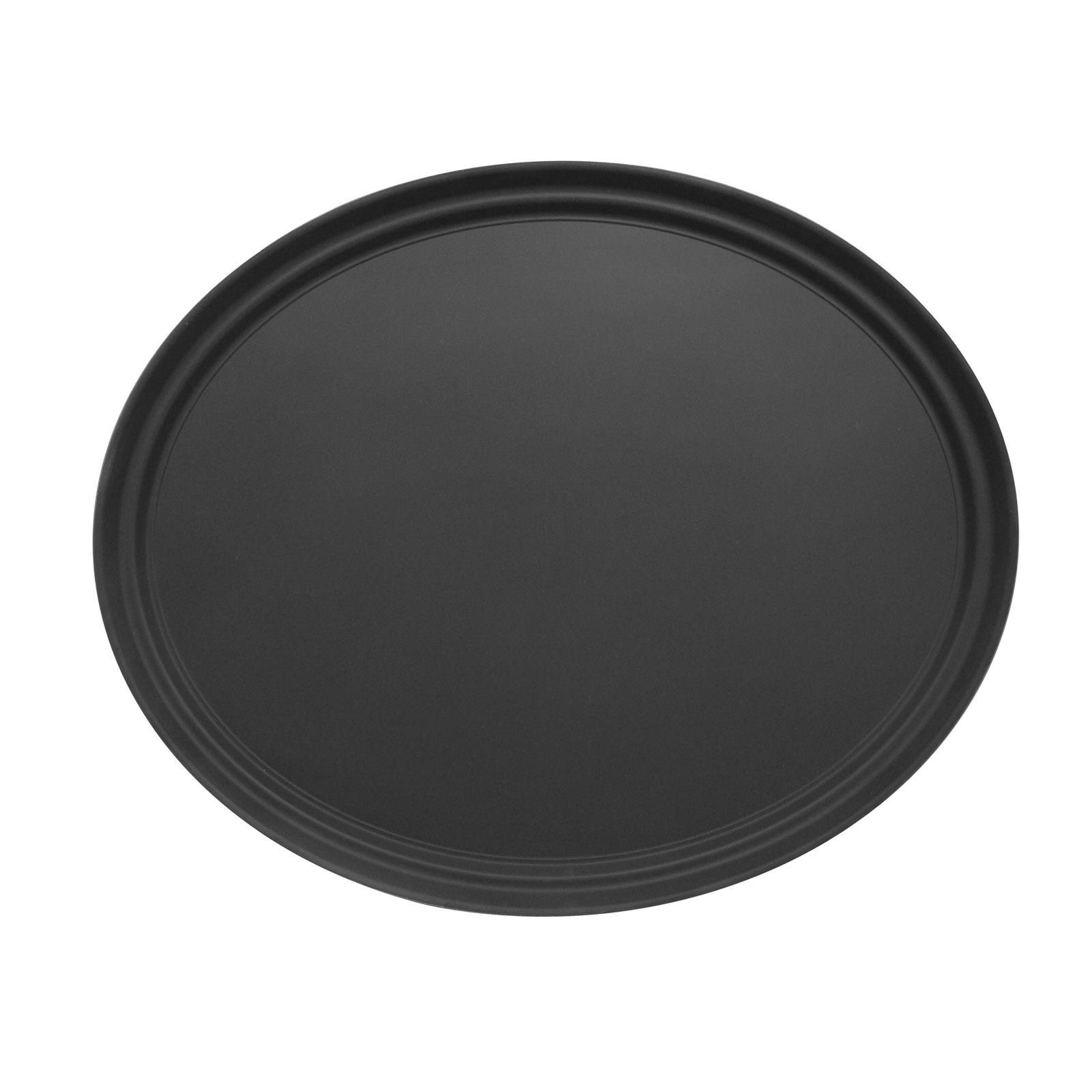 Admiral Craft NST-2429BK/OVAL serving tray, non-skid